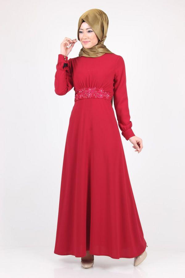 beli-islemeli-elbise-32347-bordo-56919-10-B