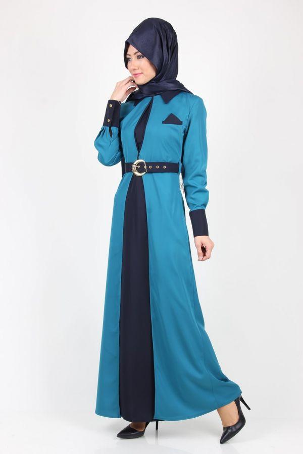 mendil-detay-yelekli-elbise-32297-petrollaci-50575-92-B
